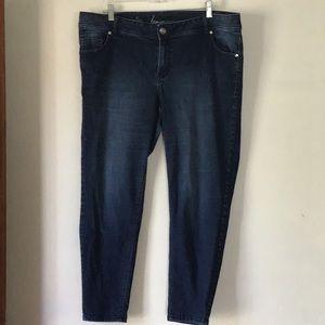 SZ 18 Lane Bryant skinny jeans